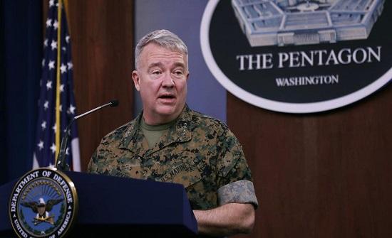 قائد القوات الأميركية: باقون بالعراق وسوريا لمواجهة إيران وداعش