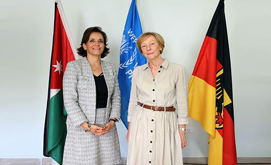 ألمانيا تساهم بــ 56 مليون يورو لبرنامج الاغذية العالمي بالأردن