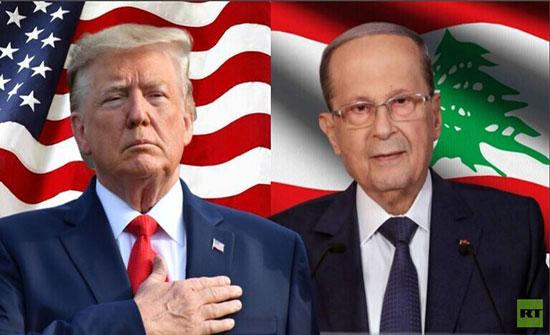 ترامب: مستعدون للعمل مع حكومة لبنانية جديدة تستجيب لحاجات اللبنانيين