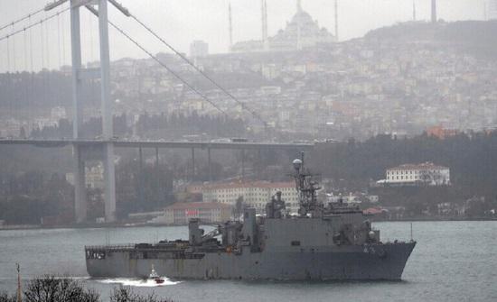 وسائل إعلام تركية: واشنطن تقرر إلغاء إرسال سفنها الحربية إلى البحر الأسود