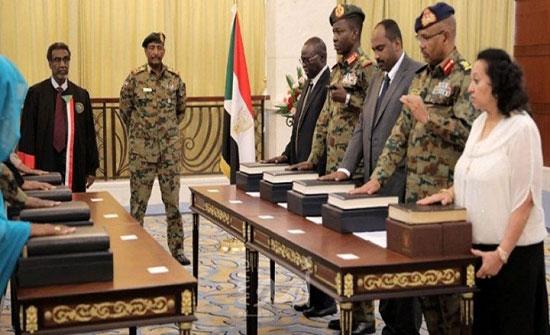 تأجيل إعلان تشكيلة الحكومة الانتقالية في السودان