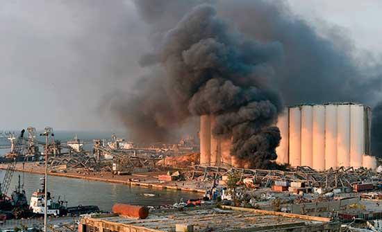 لبنان: توقف التحقيق بانفجار مرفأ بيروت
