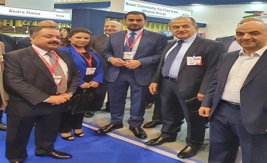 دبي: افتتاح الجناح الأردني بمعرض الخليج الغذائي