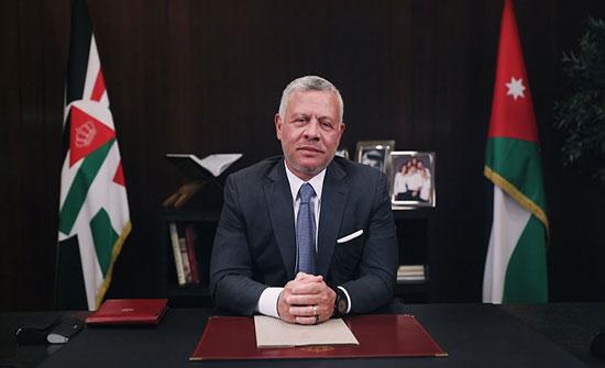 الملك يتلقى برقيات تهنئة بعيد الجلوس وذكرى الثورة العربية ويوم الجيش