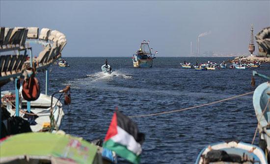 الاحتلال الاسرائيلي يفرض حصارا بحريا على غزة