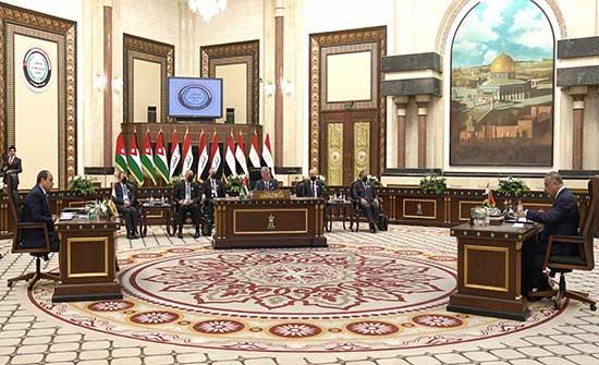 الملك يبحث مع السيسي اخر التطورات في المنطقة من بغداد