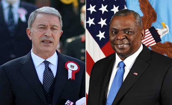 وزير الدفاع الأميركي يؤكد التزام بلاده بعلاقاتها الدفاعية طويلة الأمد مع تركيا