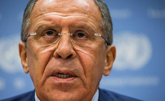"""لافروف: """"صفقة القرن"""" لن تقود لإقامة دولة فلسطينية متكاملة"""