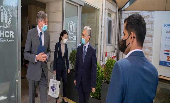 اليابان تزيد من دعمها لوكالة اللاجئين في الاردن بـ 4.875 مليون دولار