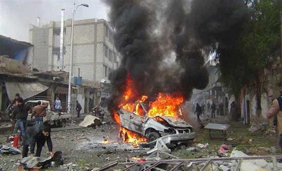 انفجار سيارة مفخخة في الحي الأول بولاية فراه جنوب غربي أفغانستان