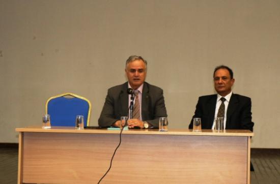 أبو كركي: برغم كل المعيقات ورغم كل الظروف إلا أن الجامعة في تقدم مستمر