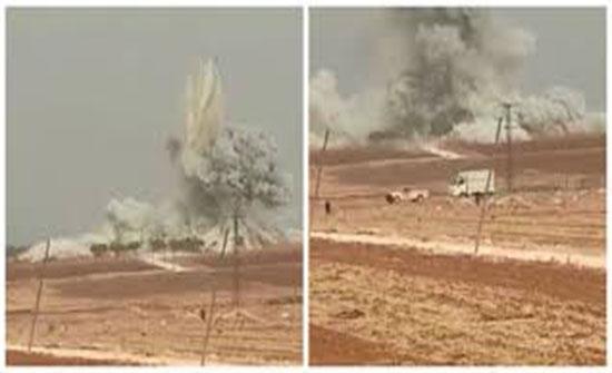 """بالفيديو : سوريا.. مقتل 3 مدنيين بقصف للنظام وروسيا على """"خفض التصعيد"""""""
