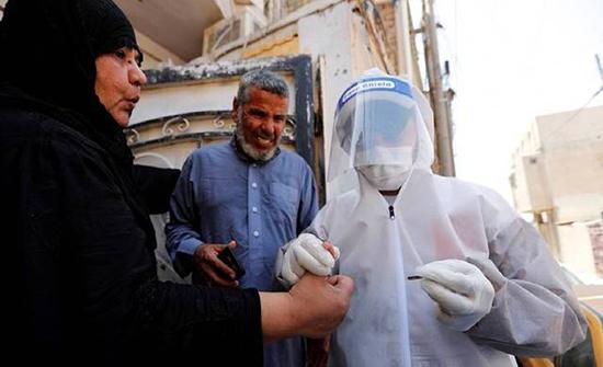 العراق يسجل وفاة 64 و2095 إصابة بفيروس كورونا