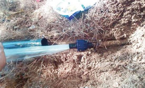 المياه تضبط اعتداءات على خط ناقل بمحافظة اربد