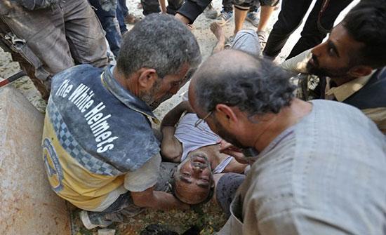 بالفيديو : عشرات القتلى في اشتباكات بين النظام والمعارضة بإدلب