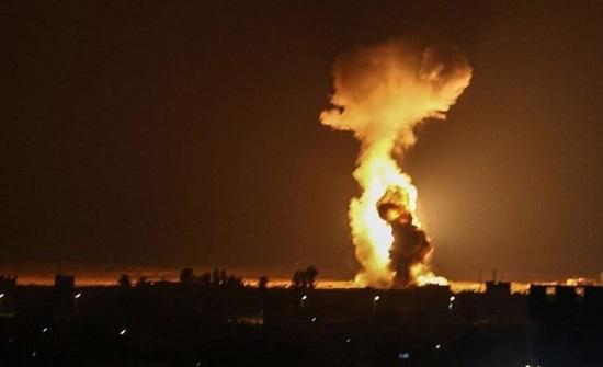 4 شهداء بغارة إسرائيلية على مخيم النصيرات ترفع الإجمالي إلى 60 شهيداً في غزة