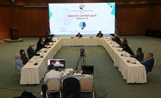 الطويسي: وزارة الثقافة تؤمن بأهمية الفلسفة ومد جسور التواصل مع الأجيال الجديدة
