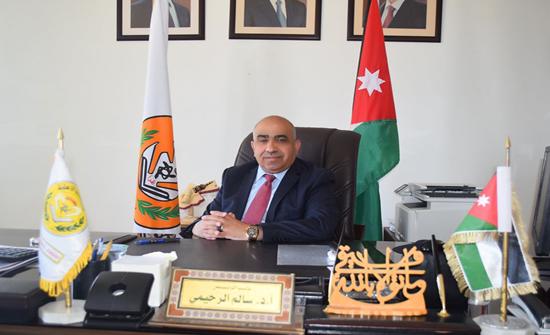 الأستاذ الدكتور سالم الرحيمي رئيساً لجامعة إربد الأهلية بالوكالة