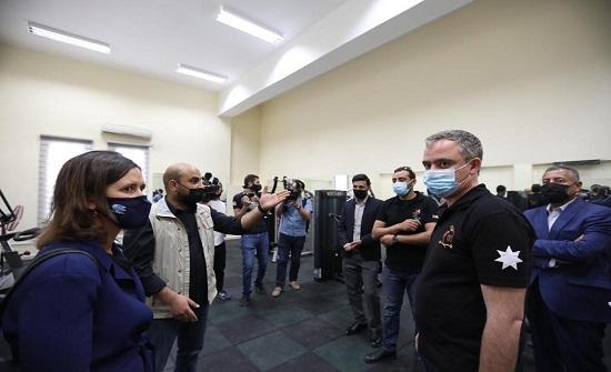 وزير الشباب في زيارة ميدانية لمحافظتي الطفيلة ومعان