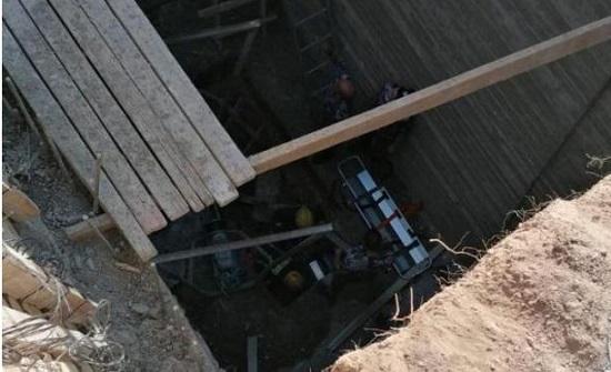 وفاة شخص وإصابة اخر سقطا داخل حفرة انشائية في عمان