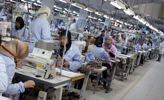 الكرك : 25 إصابة كورونا في مصنع ألبسة فقوع