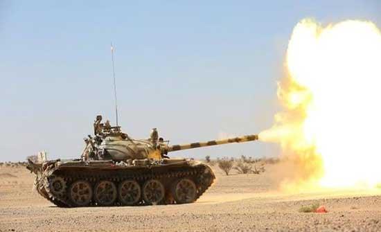 فيديو.. دك مواقع وتدمير آليات حوثية في الساحل الغربي اليمني