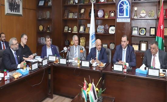 تجارة عمان مستعدة لانشاء منصة الكترونية لتعزيز التعاون الاقتصادي الاردني- الفلسطيني