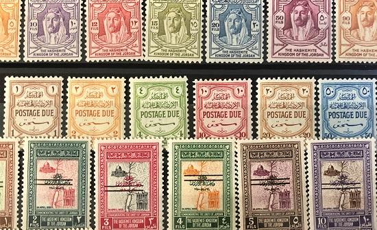 طابع البريد يدون مراحل مهمة في تطور المملكة