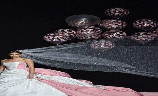 صور : بالونات الهيليوم أحدث موضة لطُرح الزفاف هذا العام