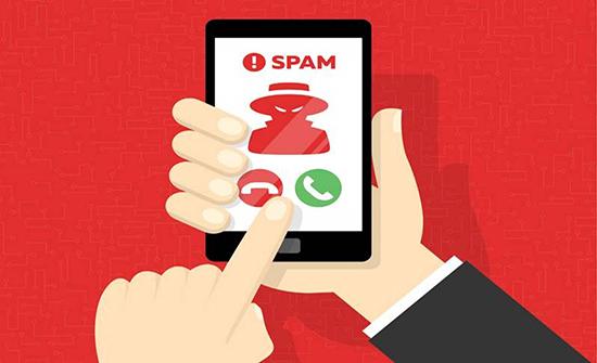 26 مليار مكالمة Spam.. خلال 2019