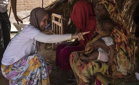 منظمة دولية: 200 ألف طفل يعانون بسبب الفيضانات في جنوب السودان