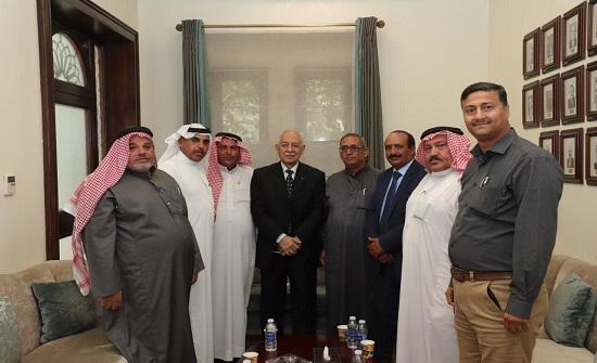 العيسوي يستقبل وفودا من مبادرة بصمات الشبابية ونقابة شركات التوظيف