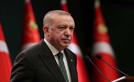 أردوغان: نولي أهمية قصوى لسلام ورفاهية ليبيا