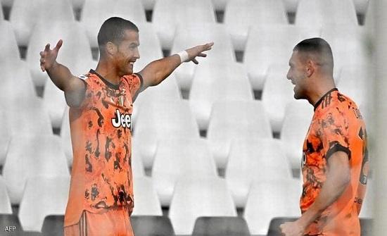 في أول مباراة بعد تعافيه.. رونالدو يسجل هدفين