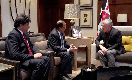 الملك يلتقي مستشار الأمن القومي الهندي