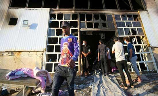 ارتفاع حصيلة حريق مستشفى الحسين التعليمي إلى 92 وفاة في العراق