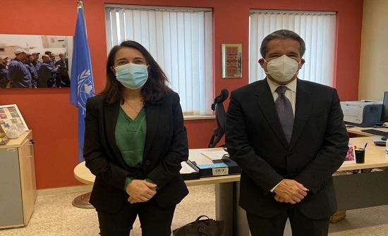لورينسو وهرنانديز يشيدان بجهود الاردن لدعم الأونروا