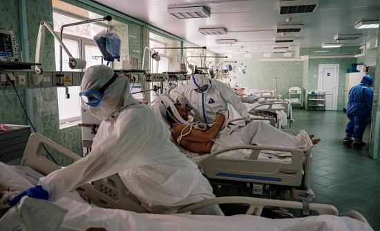 روسيا : تسجيل 153 وفاة و 8599 إصابة جديدة بفيروس كورونا