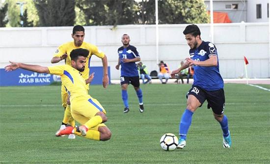 فوز الرمثا على الحسين إربد بدوري محترفي كرة القدم