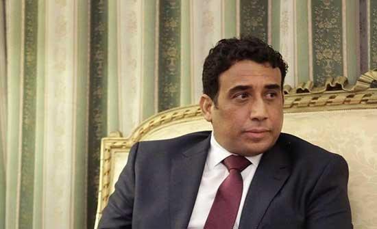 """المنفي يؤكد لـ""""أردوغان"""" وحدة ليبيا وسيادتها وأهمية العلاقة بين البلدين"""