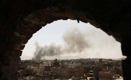التحالف العربي يؤكد شن غارات على صنعاء ضد الحوثيين