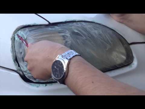 بالفيديو.. هل تعلم ماذا يحدث عندما تضع معجون الأسنان على أضواء السيارة؟!