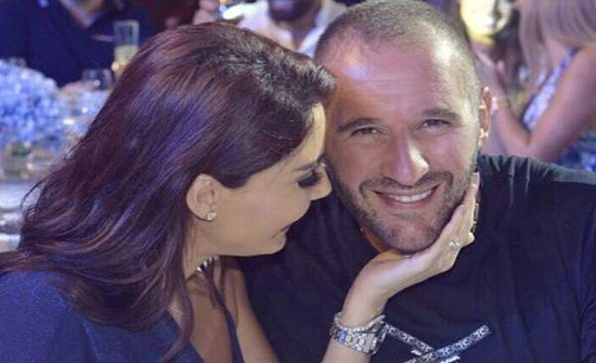 صورة : بعيد زواجهما رسالة رومانسية من سيرين عبد النور لزوجها