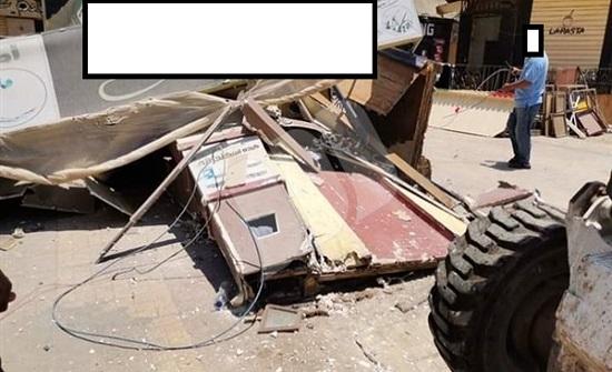عجلون :حملة لازالة التعديات على الشوارع