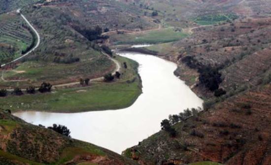 1,5 مليون م3  مياه ادخلها المنخفض الأخير على السدود