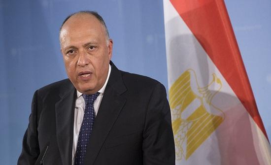 شكري لحمدوك: مصر تحرص على دعم السودان بالمرحلة الانتقالية