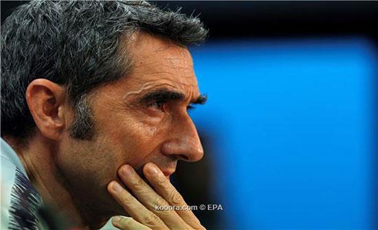 لاعب برشلونة ينتقد قرار فالفيردي