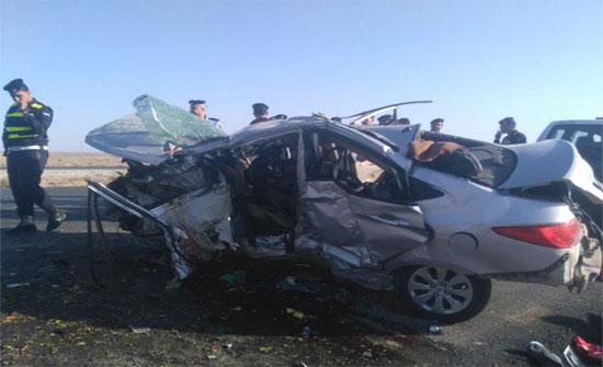11 اصابة بحادثي سير في الزرقاء والمفرق
