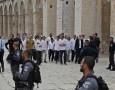 الأردن يدين  اعتداء الإحتلال على المصلين في الأقصى