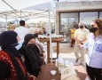 الملكة رانيا العبدالله تلتقي عدداً من المزارعين وأصحاب المشاريع المنزلية